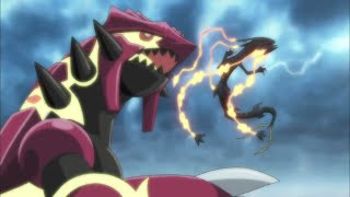 POKÉMON 18TH MOVIE 2015 - SHINY MEGA RAYQUAZA, PRIMAL GROUDON & PRIMAL KYOGRE!