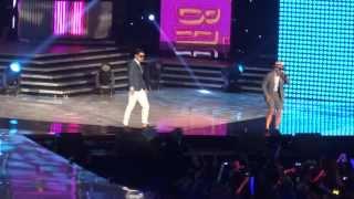 130825 - Dynamic Duo - BAAAM @ M! Countdown What's Up LA KCON 2013