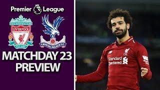 Liverpool v. Crystal Palace | PREMIER LEAGUE MATCH PREVIEW | 1/19/19 | NBC Sports