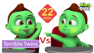 Baby Hulk TERRIBLE TWINS Twins Day Care Funny Episode for Parents & Kids