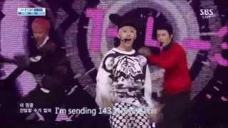 [HD繁中] 130825 Henry(ft Donghae&Eunhyuk) -143 (I love you)