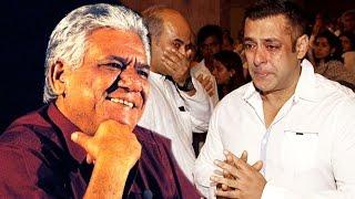 Salman Khan CRIES On Om Puri's Funeral