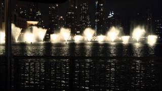 Dubai Fountain Show In The Valentine Day Moods At Dubai Mall
