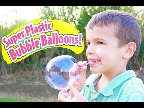 SUPER Bubble BALLOONS - Toy Fail Plastic Giant Bubble Balloon Surprise EPIC