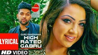 High+Rated+Gabru+Lyrical+Video+Song+%7C+Guru+Randhawa+%7C+V4H+Music