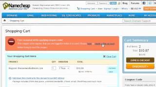 How to Register a Domain Name Through Namecheap