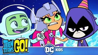 Teen Titans Go! | Space Adventures! | DC Kids