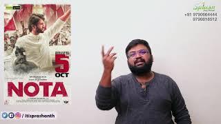NOTA review by Prashanth