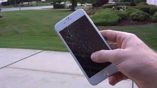 iPhone 6 Drop Test On Concerete Slow-Motion! | Apple iPhone 6 Prototype Clone Clone Droptest