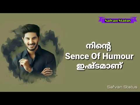 Dulquer Salmaan Class Dialogue Lyrics Whatsapp Status Malayalam