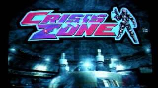 Namco Crisis Zone attract demo arcade game