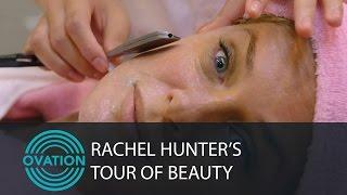 Rachel Hunter -- A Close Shave