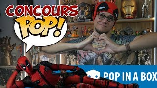 🎁 Pop In A Box - Juin 2018 + Concours