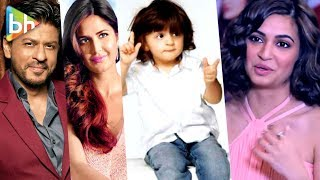 Kriti Kharbanda AWESOME Rapid Fire On Shah Rukh Khan | Katrina Kaif | AbRam