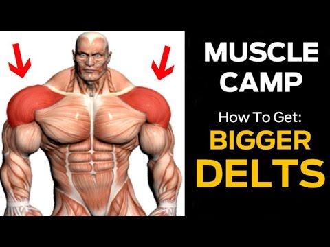 How To Get BIGGER Shoulders With 4 EASY MOVES (Advanced Shoulder Workout)