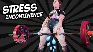 Why do girls PEE when they LIFT?