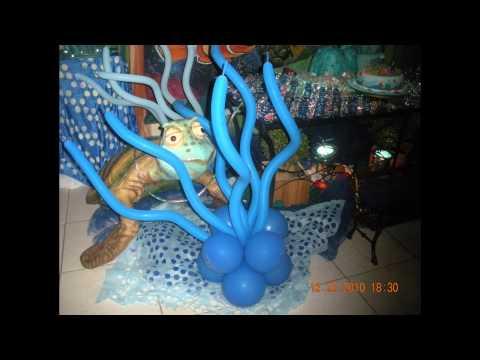 Procurando Nemo no Espaço em Festa