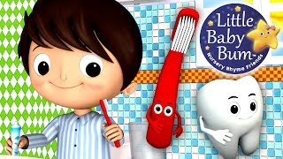 This Is The Way We Brush Our Teeth | Nursery Rhymes | from LittleBabyBum!