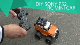 How to make a car with the Sony PS2 joystick remote control