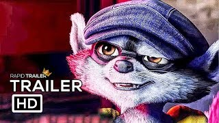 SLY COOPER Official Trailer (2018) Animated Movie HD