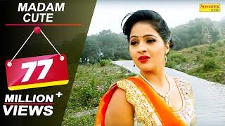 Madam Cute || Uttar Kumar Dhakad Chhora , Kavita Joshi || Haryanvi New Song