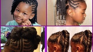 Cute Hairstyles For Black Little Girls 2016