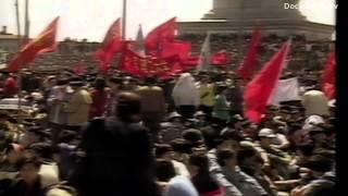 Student protest China: Tiananmen Square 1989