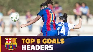 The Women's Team Top 5 headed goals in the 2016/17 season