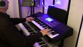 Korg PA600 Jazz Organ All of Me Demo