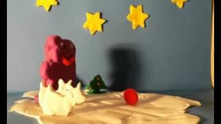 Les chiens sur la banquise - Mini-métrage en pâte à modeler réalisé par Elsa, Léa, Laura et Natacha