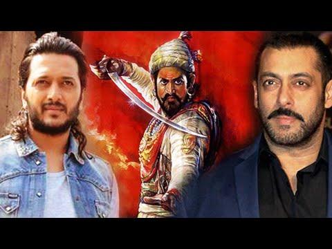 Salman Khan in Marathi Movie Chhatrapati Shivaji with Riteish Deshmukh