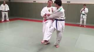SIDE HOOK JUDO THROW. All about JUDO Yoko Gake Right to left grips.