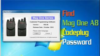 How To Find Mag One A8 Password Protected