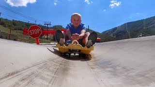 Hoverboard Race Down a Mountain!