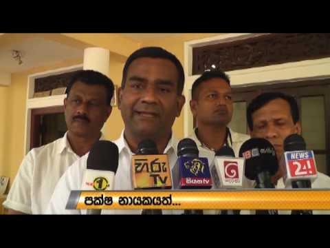 Politics again rise  - Tissa Attanayake