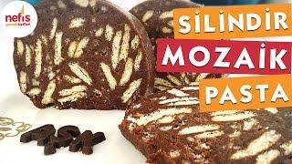 Silindir Mozaik Pasta Tarifi