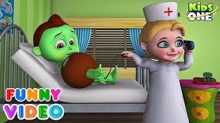 GREENY KIDDO Hospitalized Blood Pressure Measurement Goes Wrong | Funny Video for Kids - KidsOne