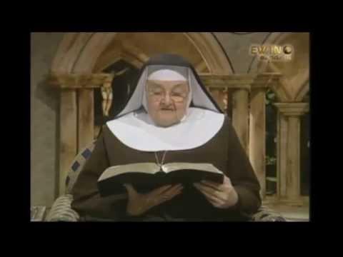 La Madre Angélica  Las profecías de la Virgen María de La Salette y sus consecuencias
