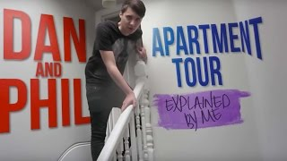 A Tour of Dan and Phil's Apartment (RIP)