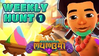 🎨 Subway Surfers Weekly Hunt - Collecting Colorful Bowls in Mumbai (Week 1)