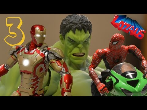 IRONMAN STOP MOTION Action Video Part