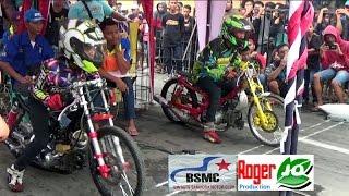 Aksi Sadis Para JAGO Drag F1ZR ; Pemalang BSMC Drag Bike 2016 Class BBK 2T STD 116 CC Poin Terbaru