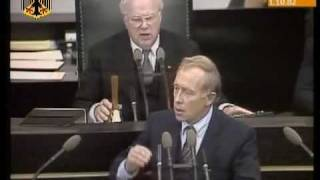 Helmut Kohl vs Helmut Schmidt (1982) Regierungswechsel