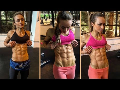 Jessica Gresty Sexy Female Fitness Motivation: ABS and Weight Loss