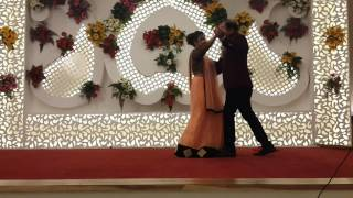Couple dance at Sangeet Ceramony of my brother in law.