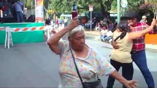 Drunk Dancing Lady  La Borracha Bailadora de San Antonio Tx 9\6\10