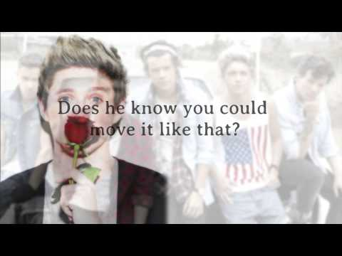 One Direction - Does He Know (Lyrics + Pictures) *HD*