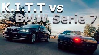 KITT el auto increíble vs BMW Serie 7 - de la fantasía a la realidad | Autocosmos