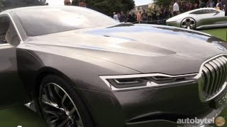 BMW's Vision Future Luxury Concept Car Walkaround from Pebble Beach