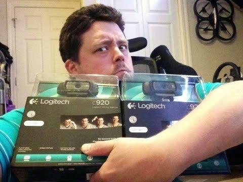 Logitech C920 HD Pro 1080p Webcam Hands on Review Compare Lifecam Studio HD
